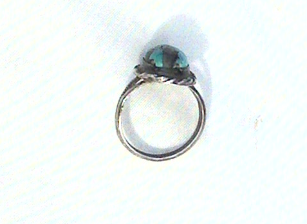 Native American Indian Turquoise Ring Vintage Old Pawn view 3